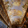 Strahov Library Philosophical Hall, ceiling that would make the Sistine Chapel envious