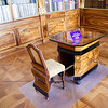 Strahov Library Philosophical Hall, chair collapses into desk
