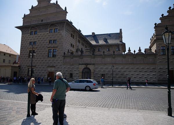 Prague Castle square, Schwarzenberg Palace