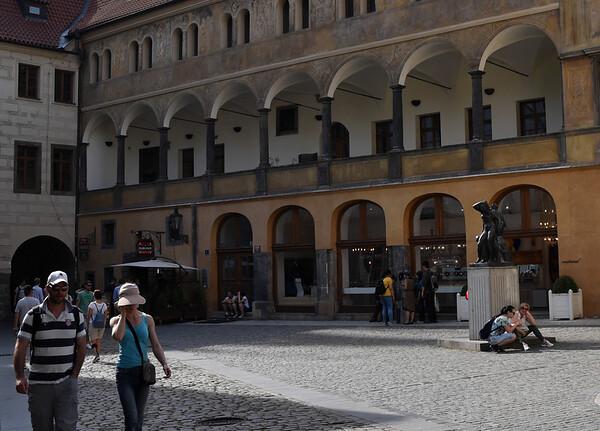 Prague - beautiful Moorish archways