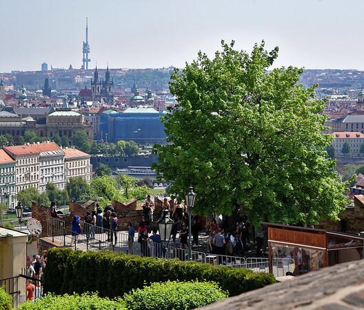 Prague Castle - view of Prague