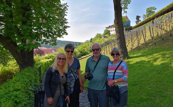 St. Wenceslas Vineyard - Michelle, Suzanne, Terry, Amy