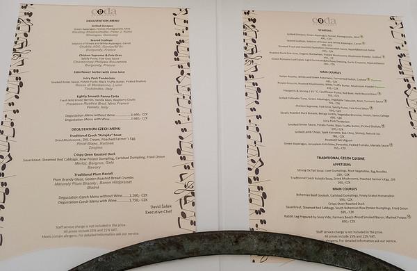 Prage - Coda Restaurant in the Aria Hotel