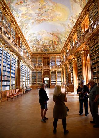 Strahov Library Philosophical Hall, wondrous wood