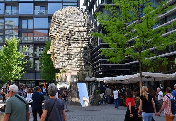 Prague - Franz Kafka's head