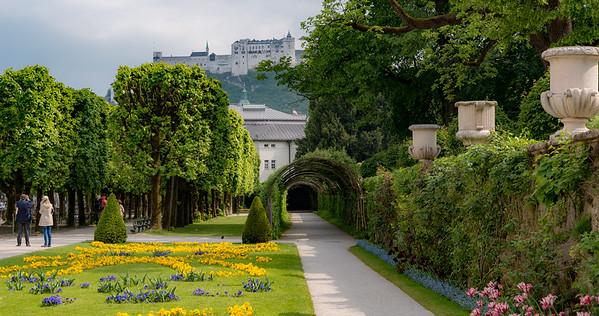 Salzburg - Mirabell palace and gardens
