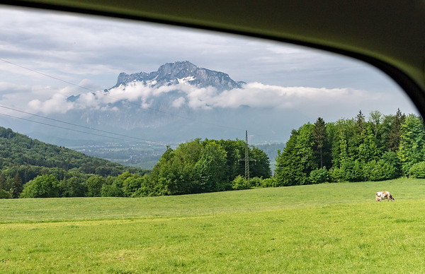 Austrian road scene