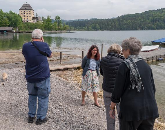 Stop along Lake Fuschlsee