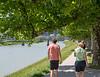 Salzburg - walk along the Salzach River