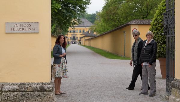 Hellbrunn Palace - location of original SOM gazebo