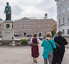 Salzburg - the Mozrt town, Lisa our guide