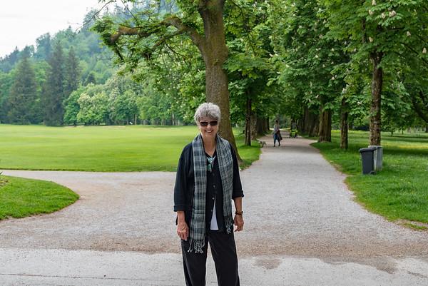 Hellbrunn Palace - Suzanne and a lyrical landscape