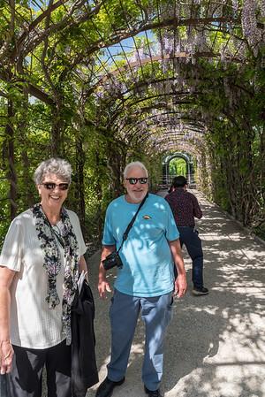 Schönbrunn Palace - Wisteria, Suzanne and Terry