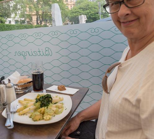 Vienna - Lunch at Bitzinger