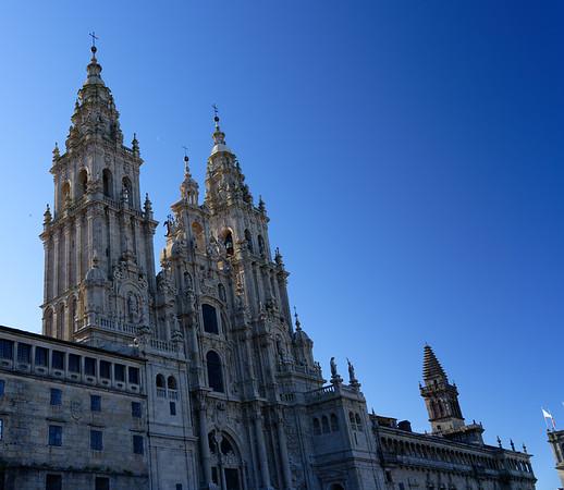 DAY 7:  Walking tour of Santiago de Compostela Galicia Spain