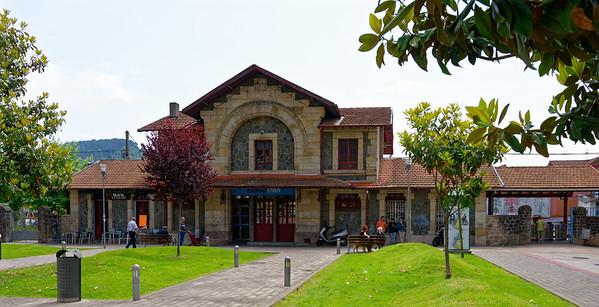 Gernika, Basque Country, Spain - Train Station