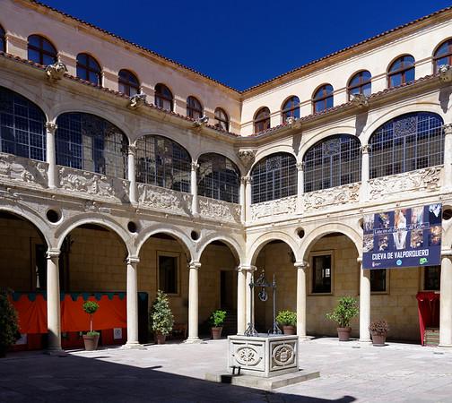 León, Castile and León, Spain - Palacio de los Guzmanes