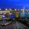 Barclona Airport, headed to Amsterdam
