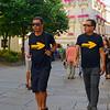 Santiago de Compostela Galicia Spain - two gentlemen of the Way