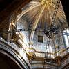 Santiago de Compostela Galicia Spain - Cathedral, Botafumeiro apparatus