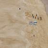 Nazaré Portugal - surfers warming up