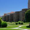 Astorga, Castile and León, Spain - rebuilt portion of old Roman city wall