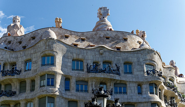 Barcelona Catalonia Spain – Casa Milà