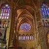 León Spain Santa María de León Cathedral
