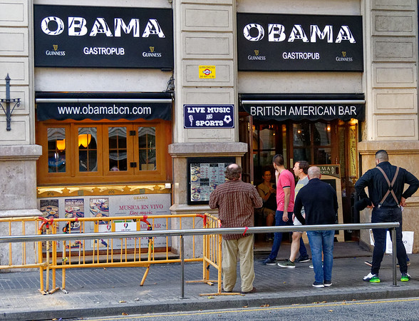 Barcelona Catalonia Spain – I'm sure the Obamas would enjoy this place.
