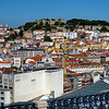 Lisbon Portugal - São Jorge Castle from the funicular
