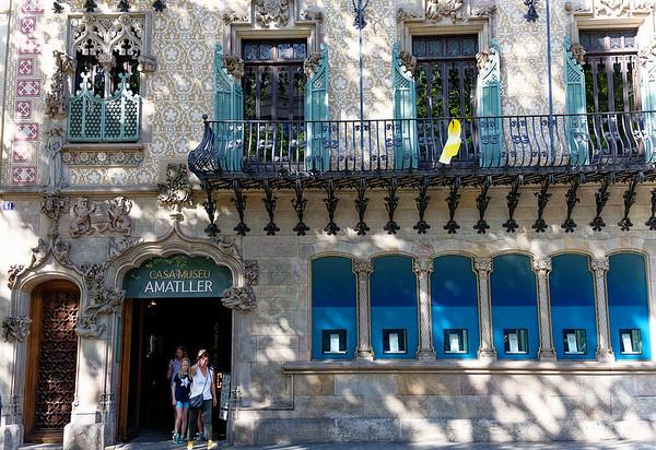 Barcelona Catalonia Spain – Casa Amatller