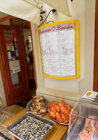 Nazaré Portugal - Restaurant O Bartador