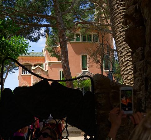 Barcelona Catalonia Spain – the Gaudi House Museum