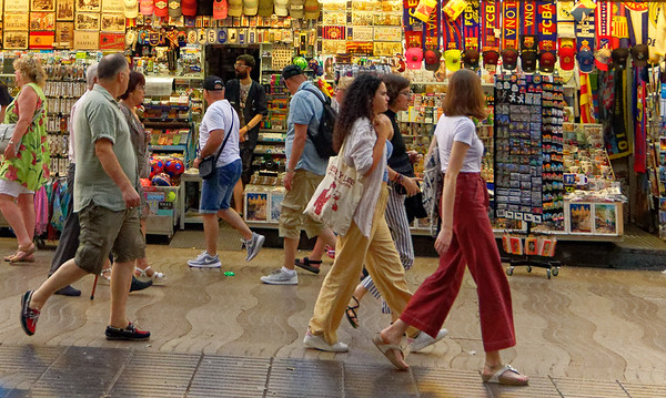 Barcelona Catalonia Spain – La Rambla