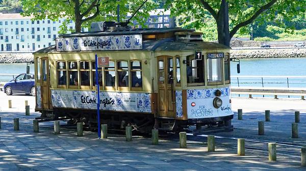 Porto Portugal - trolly