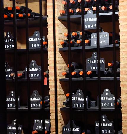Porto Portugal - W.&J. Graham's old bottles of port