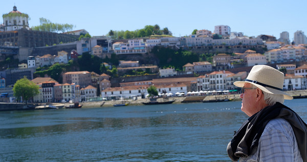 Porto Portugal - Judson takes in the sights