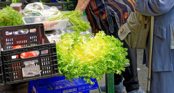 Gernika, Basque Country, Spain - Monday Market  (luckily, we got there on a Monday!)