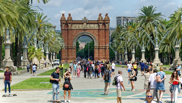 Barcelona Catalonia Spain - The Arc de Triomf