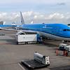 Amsterdam, headed to Houston via Dreamliner