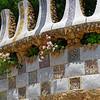 Barcelona Catalonia Spain – The Park Güell, entrance detail