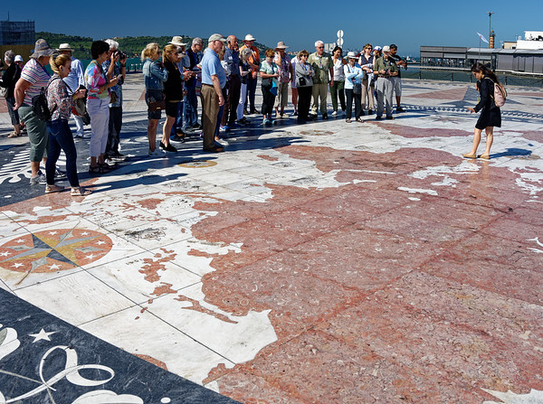 Lisbon Portugal - Maria explains the early explorers