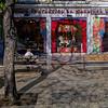 Lisbon Portugal - tourists, sardines and Comunists