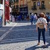 Pamplona Navarre Spain – a walk along Calle Mercaderes