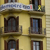 Barcelona Catalonia Spain – signs of protest