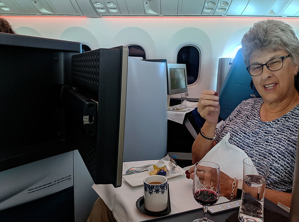 Amsterdam, headed to Houston