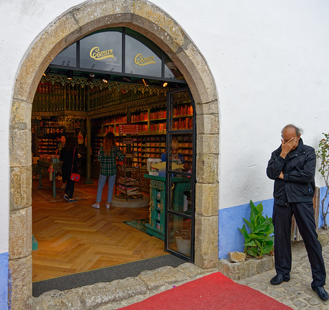 Obidos Portugal - I feel your pain!