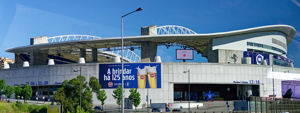Porto Portugal - Estadio do Dragao, the cathedral of football