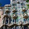 Barcelona Catalonia Spain – The Casa Amatller next to Casa Batlló