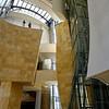 Bilbao, Basque Country, Spain - Guggenheim Museum main lobby